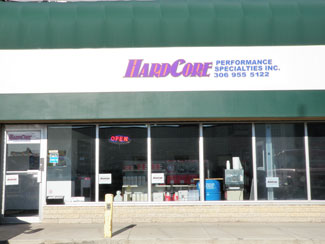 Hardcore Performance Specialties Store Front
